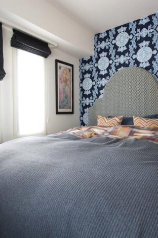 異国感のある寝室。そして金沢のセミナー、来週です。
