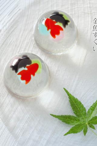 涼しげな和菓子の世界。