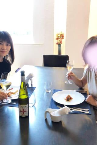 ワインとタイル
